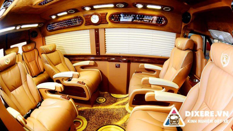 xe limousine hà nội đi móng cái