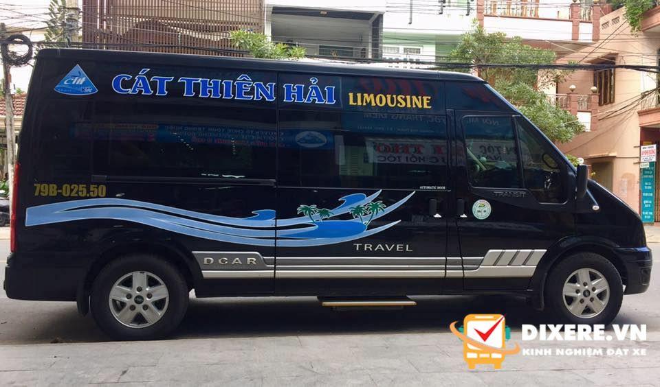 Xe limousine Nha Trang đi Đà Lạt