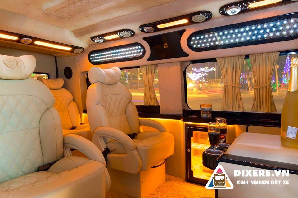 xe limousine hải phòng đi sân bay nội bài