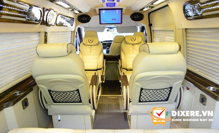 Xe Limousine Sài Gòn Đà Lạt