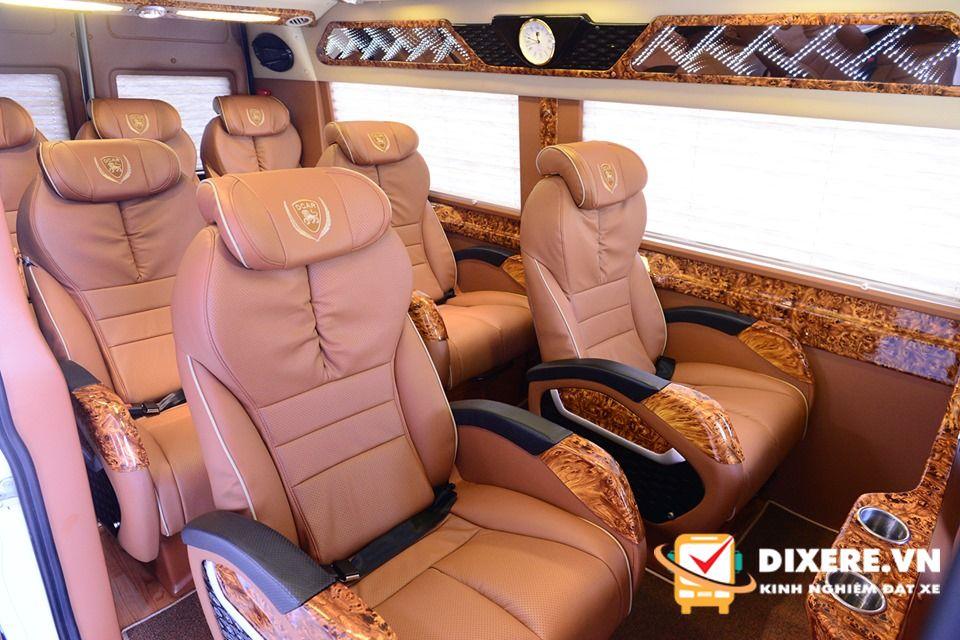 Xe limousine đi Thái Bình