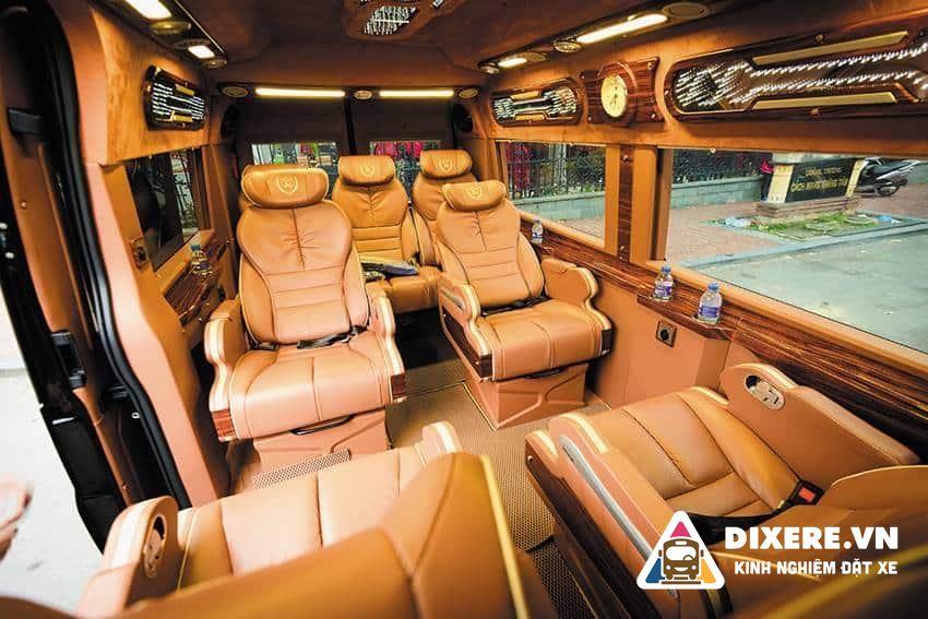 Xe Limousine Phương Trang Đi Đà Lạt