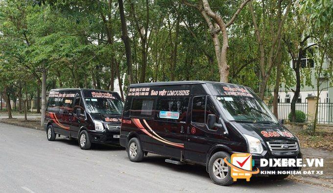 Xe đi Sapa Sao Việt