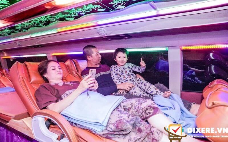 Xe giường nằm Hà Nội Sapa