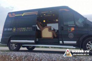 Xe Limousine Hoàng Phú – Xe Limousine chuyên tuyến Hà Nội Quảng Ninh