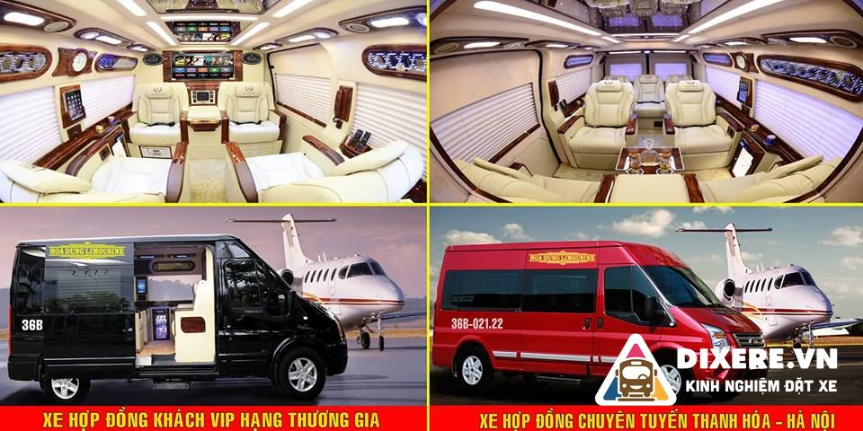 vé xe limousine hà nội thanh hóa