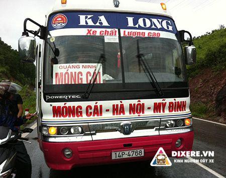 Xe Limousine Hà Nội Móng Cái