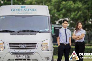 Chuyên cơ mặt đất Bình Minh Limousine tuyến Ninh Bình – Hà Nội