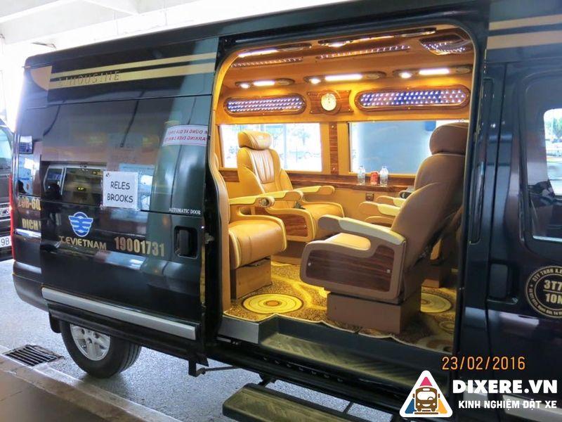 xe limousine đi ninh bình giá rẻ
