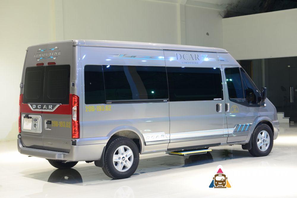 xe Limousine Nha Trang đi Mũi Né