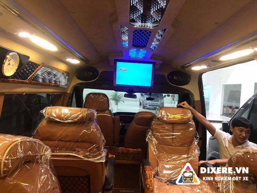 xe limousine sài gòn hà nội