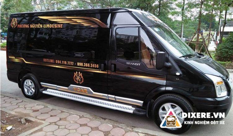 xe limousine ở nghệ an