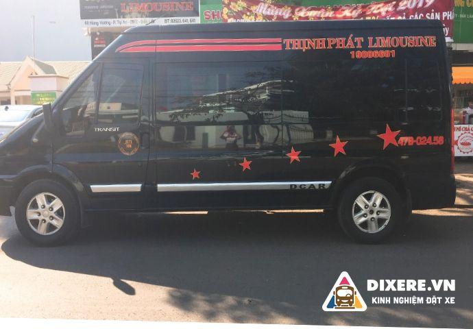 Vé xe limousine Nha Trang Sài Gòn