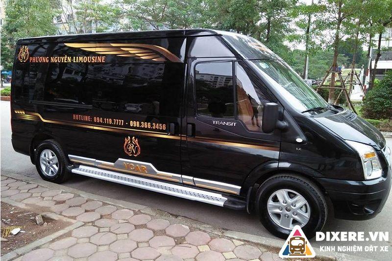 xe limousine quảng trị hà nội