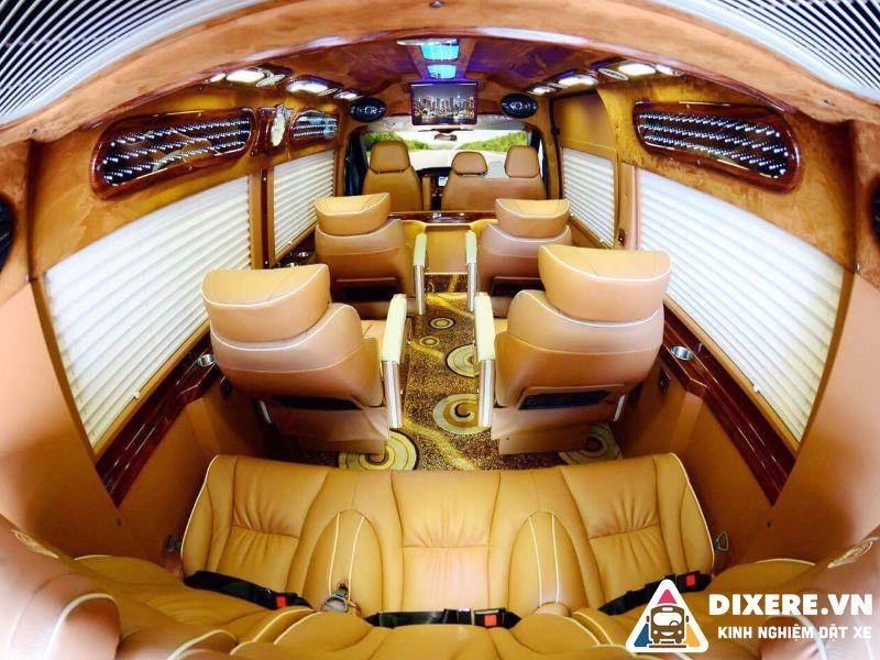 xe limousine đi đà lạt từ nha trang
