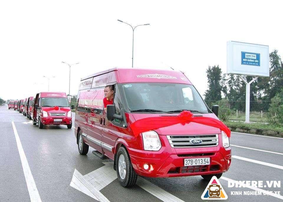 Xe Limousine Hong Vinh 2 Result