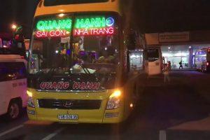Nhà xe Quang Hạnh Sài Gòn đi Nha Trang: xe giường nằm hai tầng
