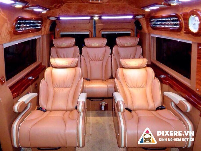xe limousine hà nội thanh hóa hoa dũng