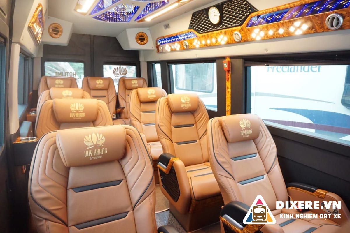 xe limousine đi Nho Quan