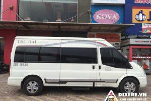 Đánh giá chất lượng nhà xe Thọ Hải limousine Bắc Giang
