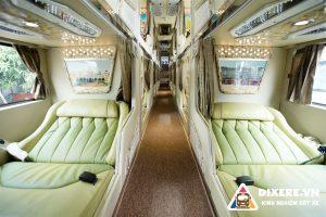 Trải nghiệm chuyến đi tuyệt vời cùng xe limousine phòng đôi đi Đà Lạt