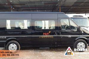 Dịch vụ cho thuê xe 7 chỗ limousine công ty HTH