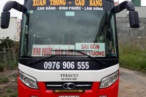 Thông tin về nhà xe Bình Phước đi Cao Bằng Xuân Thông