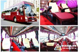 Thuê xe limousine 28 chỗ uy tín | Công ty vận tải Hoàng Nam