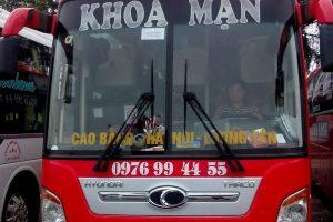Thông tin về xe khách bến xe Nước Ngầm đi Cao Bằng
