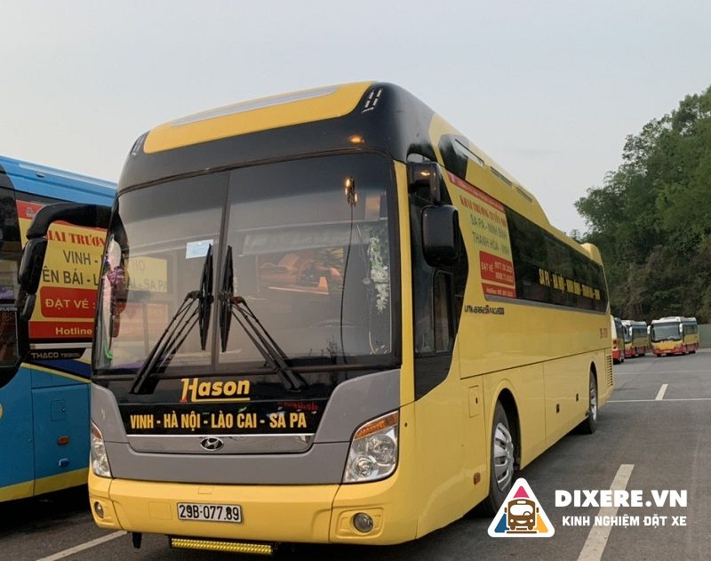 Xe limousine Ninh Bình Sapa