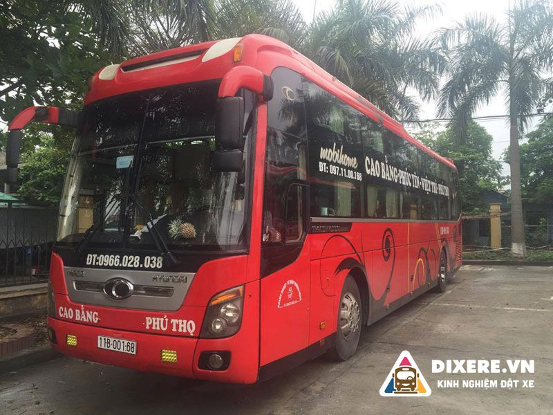 Xe Cao Bằng đi Phú Thọ