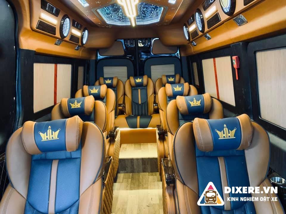 xe limousine vip hà hải
