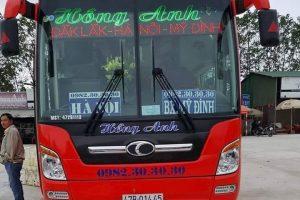 Tổng hợp các chuyến xe khách từ bến xe Mỹ Đình đi Đắk Lắk