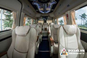 Giá cho thuê xe Limousine 12 chỗ Hyundai Solati chất lượng