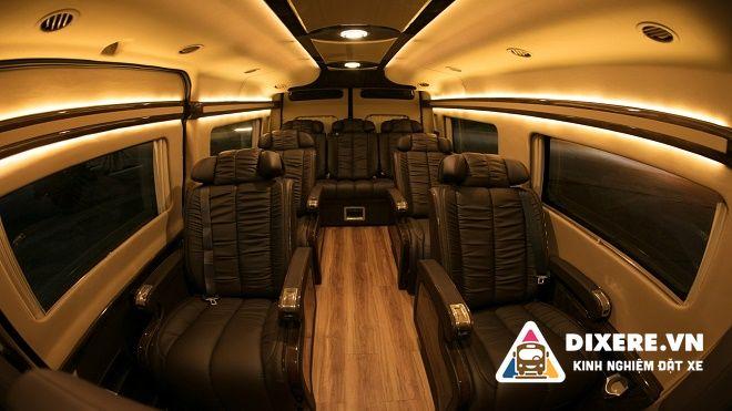 Xe Limousine 9 ChỖ Do Auto Kingdom ĐỘ Result