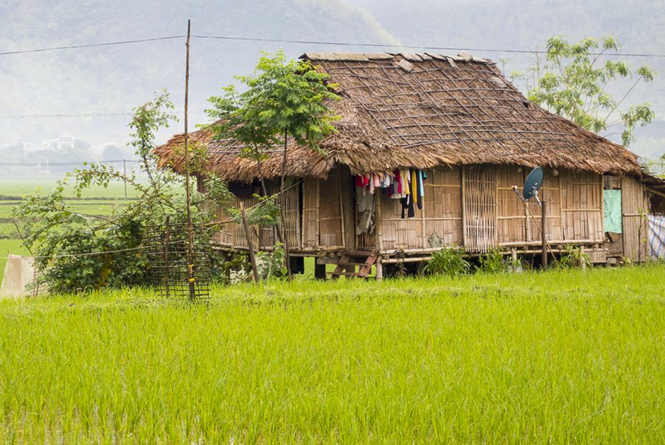 Bản Pom Coọng - Pom Coong Village | Yeudulich