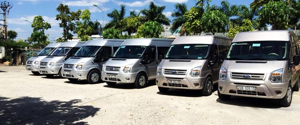 Phương đông cho thuê xe du lịch 16 chỗ ford transit giá rẻ nhất quận cầu giấy hà nội - 0912686666