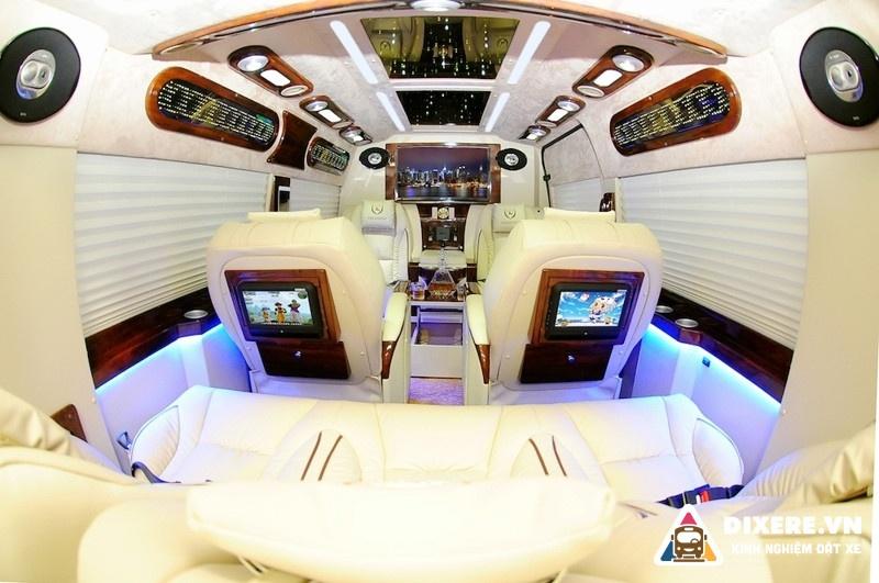 thuê xe limousine Hà Nội Sapa