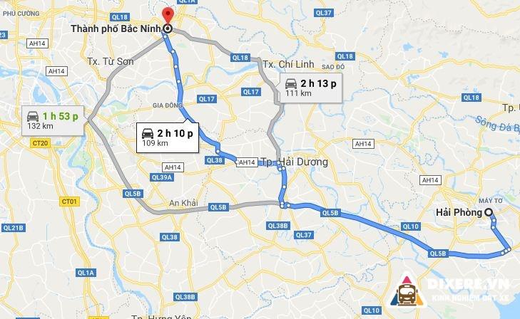 Tu Hai Phong Di Bac Ninh 2